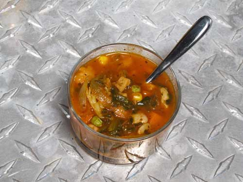 Number Nine Vegetable Soup