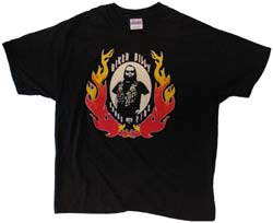 Biker Billy Cooks with Fire T-Shirts